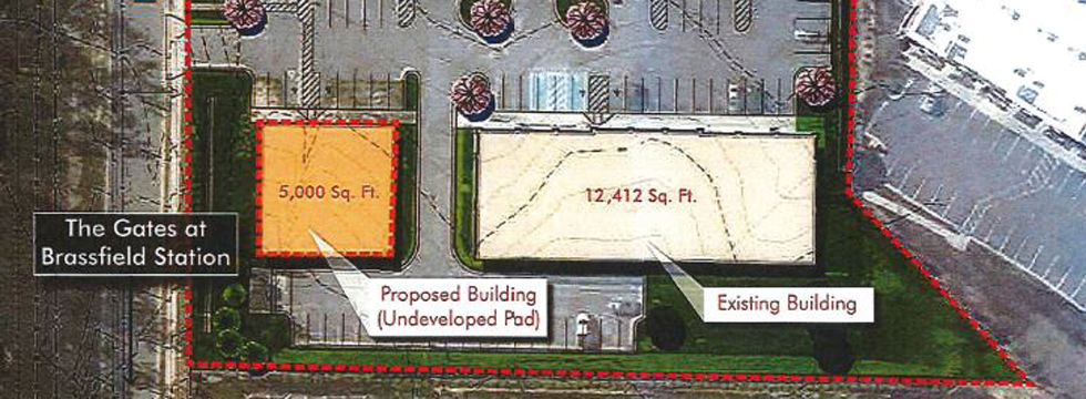 The Shoppes At Brassfield Outparcel Site Plan